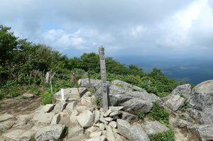 姫神山山頂